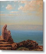 Jesus By The Sea Metal Print