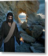 Jesus Christ- And Surely I Am With You Always Metal Print