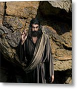 Jesus Christ- Be Blessed And Prosper Metal Print