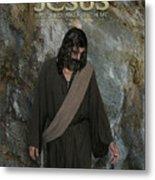 Jesus Christ- Rise And Walk With Me Metal Print
