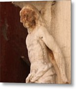 Jesus In Venice Metal Print