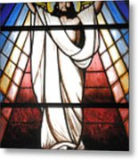 Jesus Is Our Savior Metal Print