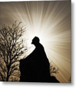 Jesus Is The Light Metal Print by Jeramie Curtice