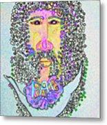 Jesus King Of Peace Metal Print