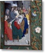 Jesus: Last Supper Metal Print