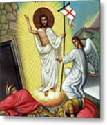 Jesus Light Metal Print