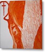 Jesus The Good Shepherd Metal Print