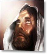 Jesus Wept Metal Print