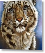 Jewel Metal Print by Barbara Keith