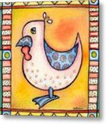 Jewel Rooster 1 Metal Print
