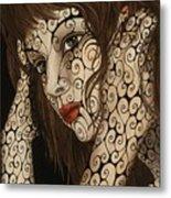 Jezebel Metal Print by Tina Blondell