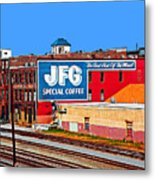 Jfg Coffee Metal Print by Steven  Michael