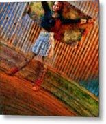 Jill Heron Magical Carpet Metal Print