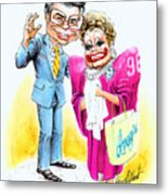 Jim And Tammy Metal Print by Harry West