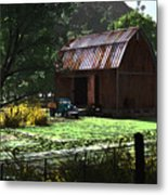 Jim Bob's Barn Metal Print