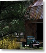 Jim Bob's Ford Metal Print