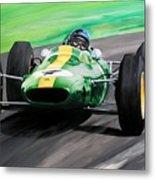 Jim Clark Lotus 25 Metal Print