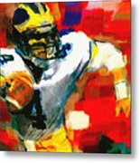 Jim Harbaugh  I Guarantee Metal Print