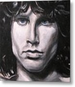Jim Morrison - The Doors Metal Print