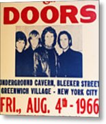 Jim Morrison And The Doors Poster Collection 3 Metal Print
