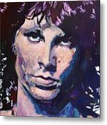 Jim Morrison The Lizard King Metal Print