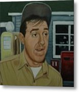 Jim Nabors As Gomer Pyle Metal Print