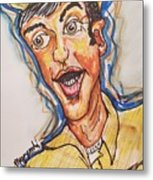 Jim Nabors Metal Print