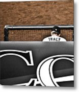 Jim Tracy Rockies Manager Metal Print