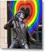 Jimi Hendrix Love On Capitol Hill Metal Print