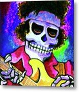 Jimi Hendrix, Soloing Metal Print