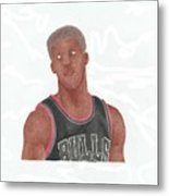 Jimmy Butler Metal Print