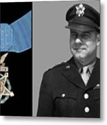Jimmy Doolittle And The Medal Of Honor Metal Print by War Is Hell Store
