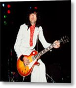 Jimmy Page Of Led Zeppelin Metal Print