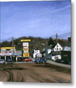 Jimmy's Alltire Metal Print