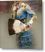 Pow Wow Jingle Dancer 7 Metal Print