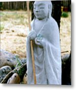 Jizo Bodhisattva - Children's Protector Metal Print