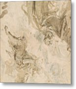 Joachim And The Angel Metal Print