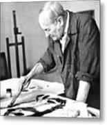 Joan Miro (1893-1983) Metal Print