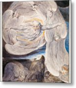 Job Confessing His Presumption To God Who Answers From The Whirlwind Metal Print