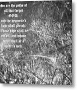Job Eight Thirteen And Fourteen Metal Print by D R TeesT