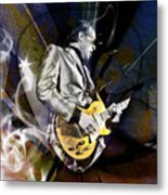 Joe Bonamassa Blues Guitarist Metal Print