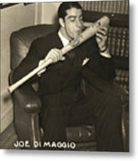 Joe Dimaggio (1914-1999) Metal Print