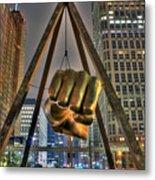 Joe Louis Fist Detroit MI Metal Print