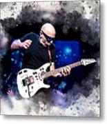 Joe Satriani Metal Print