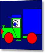 Joe The Truck Metal Print