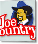 Joecountry Logo_llc Kitchen Metal Print by Joe Greenidge