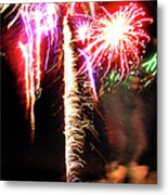 Joe's Fireworks Party 1 Metal Print
