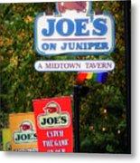Joe's On Juniper Metal Print