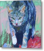 Joey The Nugget Metal Print