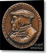Johannes Pistorius (1504-1583) [obverse] Metal Print